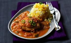Murgh salun (chicken curry)