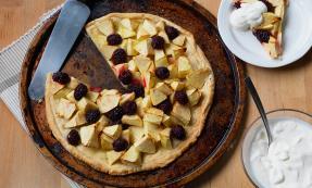 One crust fruit pie