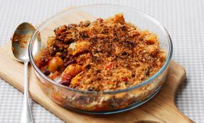 Pasta bean and chilli bake