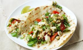 Spicy crab tortilla