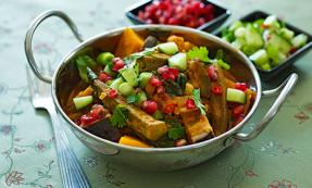 Keralan-style vegetable curry