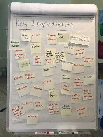 Alumni event - ingredients for success