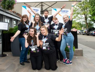 Young Fun and Type 1 volunteers