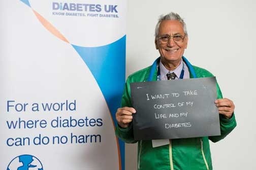 I want to take control of my diabetes - for a world where diabetes can do no harm